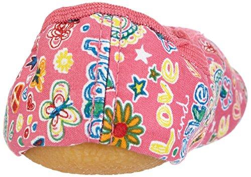Beck Happy, Rist - Zapatillas de gimnasia de lana niña rosa - Pink (pink  06)