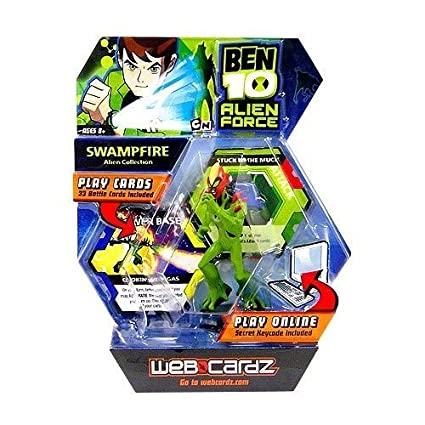 Ben 10 WebCardz - Swampfire deck [Toy]: Amazon.es: Juguetes ...