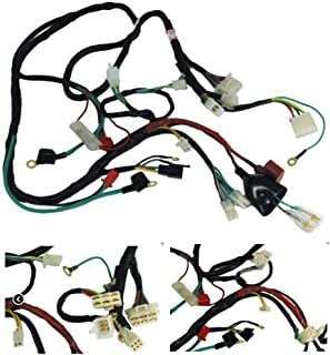 51O1UCEx4pL._AC_UL320_SR294320_ amazon com gy6 scooter wire harness sports scooter parts Wire Harness Assembly at gsmx.co