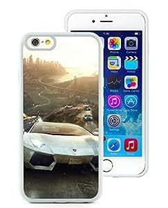 White Lamborghini In The Crew White iPhone 6 4.7 inch TPU Cellphone Case Unique and Fashion Cover