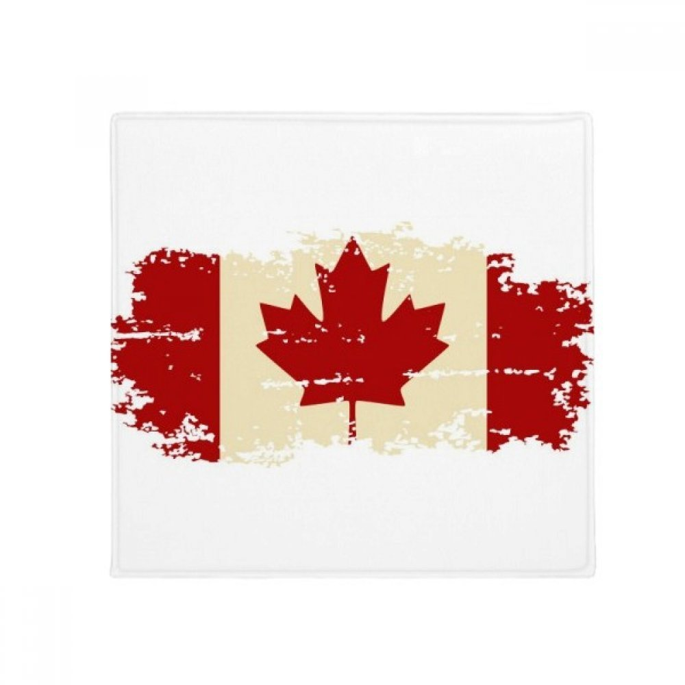 60X60cm DIYthinker Canandian Flag and Maple Leaf Anti-Slip Floor Pet Mat Square Bathroom Living Room Kitchen Door 60 50Cm Gift
