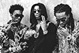 """MIGOS - Hip hop, trap - Quavo, Offset and Takeoff - Poster 24in x 36in """"FREE 8X10 POSTER"""""""