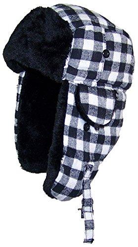 Best Winter Hats Big Kids Plaid Russian/Aviator Winter Hat (One Size)
