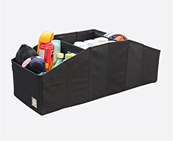 Webetop Car Trunk Organizer Storage with Straps Heavy Duty Durable Feather Foldable