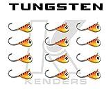 (12 pack) Tungsten Jig - TIGER BRIGHT UV