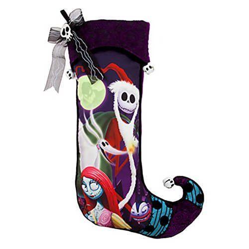 Disney Jack Skellington Nightmare Before Christmas Stocking
