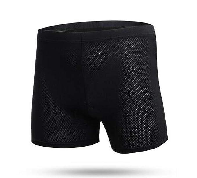 Amazon.com: Pantalones cortos de ciclismo para hombre, gel ...
