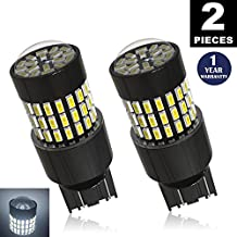 LUYED 2 X 900 Lumens Super Bright 3014 78-EX Chipsets 7440 7441 7443 7444 992 Led Bulb Used For Back Up Reverse Lights,Turn Signal Lights,Brake Lights,Tail lights,Xenon White