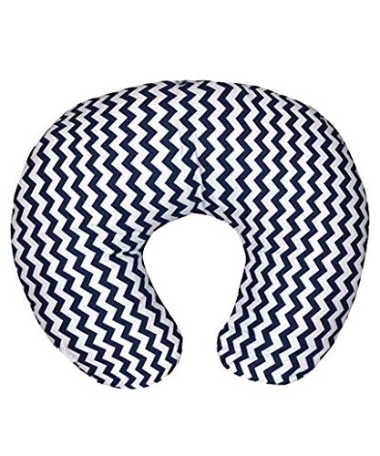 "Kidilove ""Zig Zag"" Breastfeeding Pillow - navy, one size"