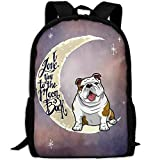 toy for english bulldog - English Bulldog Unique Outdoor Shoulders Bag Fabric Backpack Multipurpose Daypacks For Adult