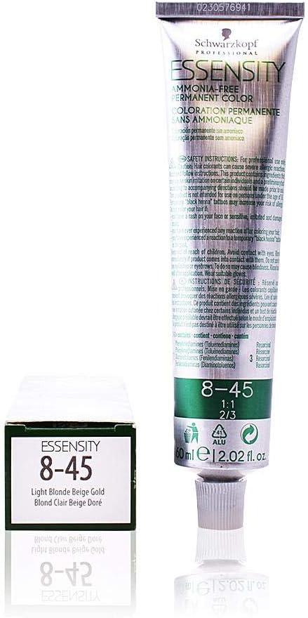 Schwarzkopf Professional Essensity Permanent Color Ammonia Free Tinte Tono 8-45 - 69 ml