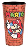 Super Mario Brothers Figures Stadium Cups/Party Tumbler Travel Mug/Cup - Novelty Drinking Glasses Kids Gifts Toys, 35 OZ
