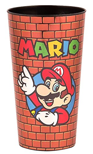 Super Mario Brothers Figures Stadium Cups/Party Tumbler Travel Mug/Cup - Novelty Drinking Glasses Kids Gifts Toys