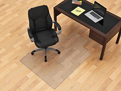 Z-Line Designs Hard floor Chairmat, 45'' x 53'', White by Z-Line Designs