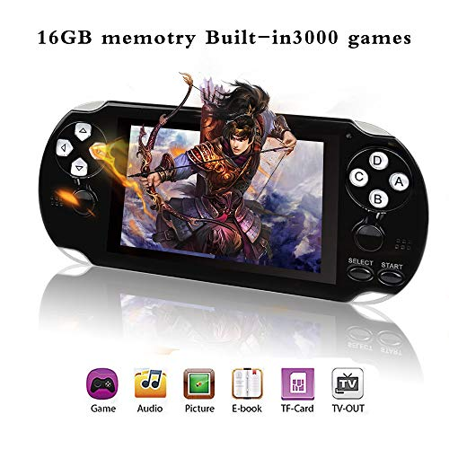 BAORUITENG Handheld Game Console , Retro Game Console with 3000 Classic Games 4.3