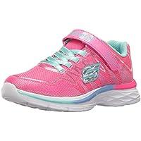 Skechers Kids Girls Dream N' Dash Whimsy Girl Velcro Strap Sneaker
