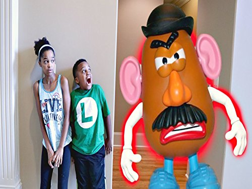 Mr. Potato Head vs Shiloh and Shasha!
