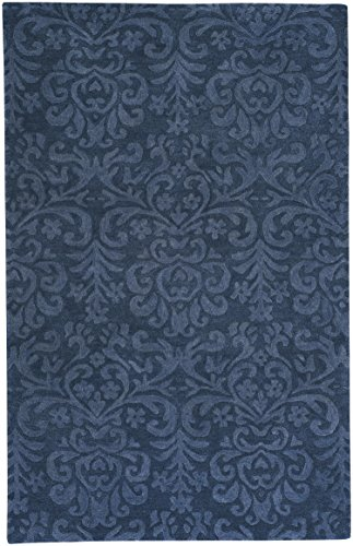 Capel Rugs Williamsburg Lace 10' x 14' Hand Tufted Rug - Navy ()