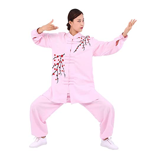 HUI Tai Chi Ropa Mujer Transpirable Tai Chi Uniforme Bordado ...