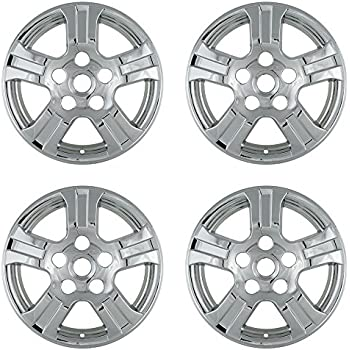 OxGord 18 inch Hubcap Wheel Skins for 2008-2010 Toyota Sequoia-(Set of 4) Wheel Covers- Car Accessories for 168nch Chrome Wheels- Auto Tire Replacement ...