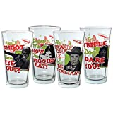 ICUP a Christmas Story Retro Pint Glass (4 Pack), Clear