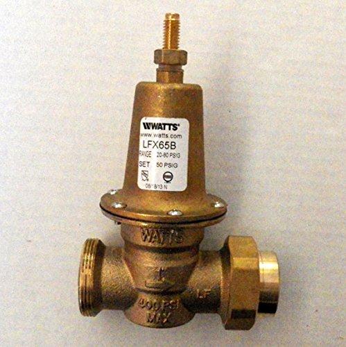 Watts Water Pressure Reducing Valve 1 inch FIP (Pressure Reducing Valve Plumbing)