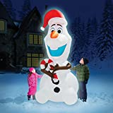 8' Airblown Inflatable Decorative Disney Olaf