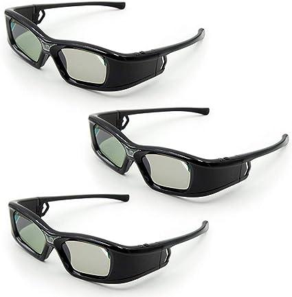 Docooler GL410 - Gafas 3D para proyector Full HD Active Link DLP ...