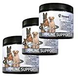 Zenapet Dog Immune Support-Immune Booster for Dogs-Safeguard Your Dog's Immune System-Premier Supplement for Dogs-Natural Vitamins for Dogs in Food Form with Antioxidant Support (180 Grams, 3 Pack)