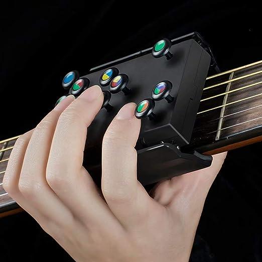AIAIⓇ Ayuda de acordes de Guitarra - Ejercitador portátil de ...