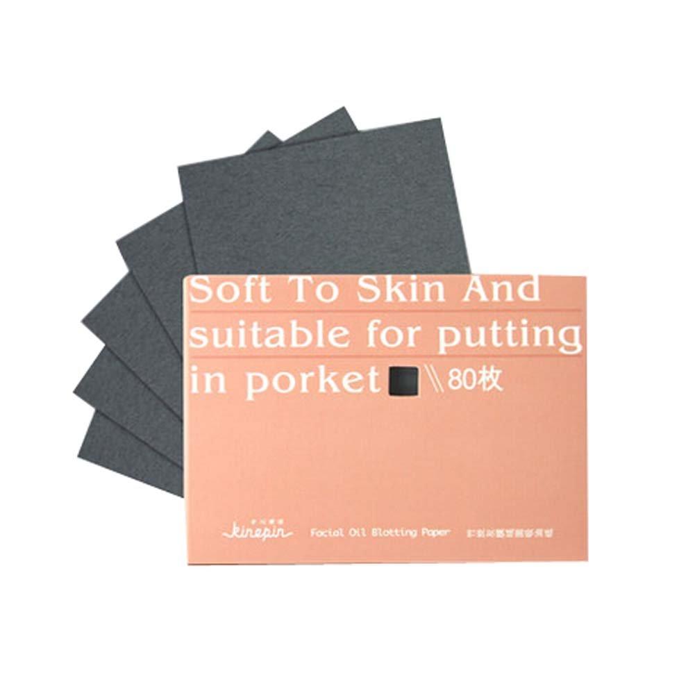Set of 2 Oil Control Paper Men/Women Oil Blotting Paper(280 sheets),Orange