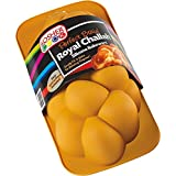 Silicone Braided Challah Pan - Perfect Challah Bread Braid Baking Mold, No Shaping Required - Large - By The Kosher Cook