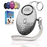 SLFORCE Personal Alarm Siren Song - 130dB Safesound Personal Alarms for Women Keychain with LED Light, Emergency Self Defense for Kids & Elderly. Security Safe Sound Rape Whistle Safety Siren
