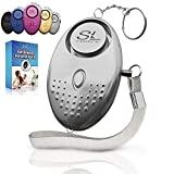 super loud personal alarm - Personal Alarm Siren Song - 130dB Safesound Personal Alarm Keychain with LED Light, Emergency Self Defense for Women , Kids & Elderly. Security Safe Sound Rape Whistle Safety Siren Alarms by SLFORCE