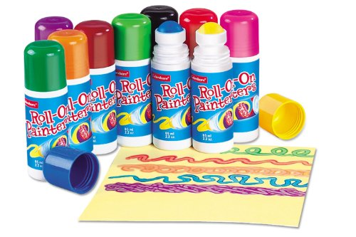 Lakeshore Roll-On Painters - 10-Color - 10 Painter