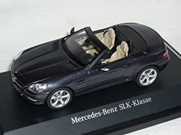 Schuco MB SLK-Klasse schwarz matt 1:43