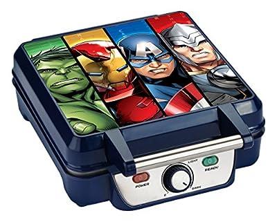Marvel MVA-278 Captain America Shield Waffle Maker, Blue