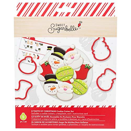 Sweet Sugarbelle 350350 A Taste of Christmas Cookie Cutter Set, Mutli
