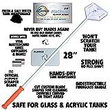 FL!PPER Flipper Platinum Aquarium Hand Scraper Tool