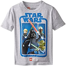 Star Wars Boys' T-Shirt, Gray