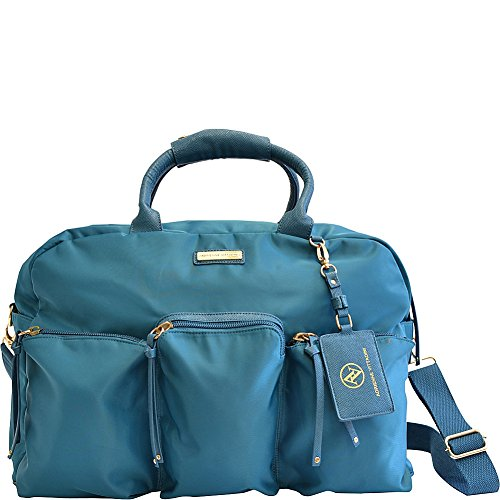 adrienne-vittadini-featherweight-collection-22-multi-pocket-duffle-22-l-x-12-h-x-10-w-teal