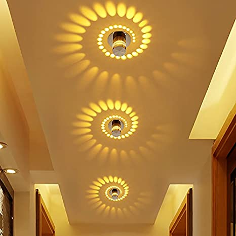 Pasillo pasillo lámpara luz simple y creativas lámpara ...