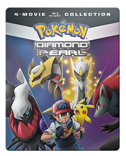 (Pokemon Diamond & Pearl Movie 4-Pack [Blu-ray])
