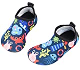 Babys Kids Water Shoes Toddler Boys Skin Swim Shoes Girls Quick Drying Barefoot Aqua Socks for Pool Beach Lightweight Mermaid Summer HDSJ 28-29