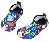 Babys Kids Water Shoes Toddler Boys Skin Swim Shoes Girls Quick Drying Barefoot Aqua Socks for Pool Beach Lightweight Mermaid Summer HDSJ 24-25