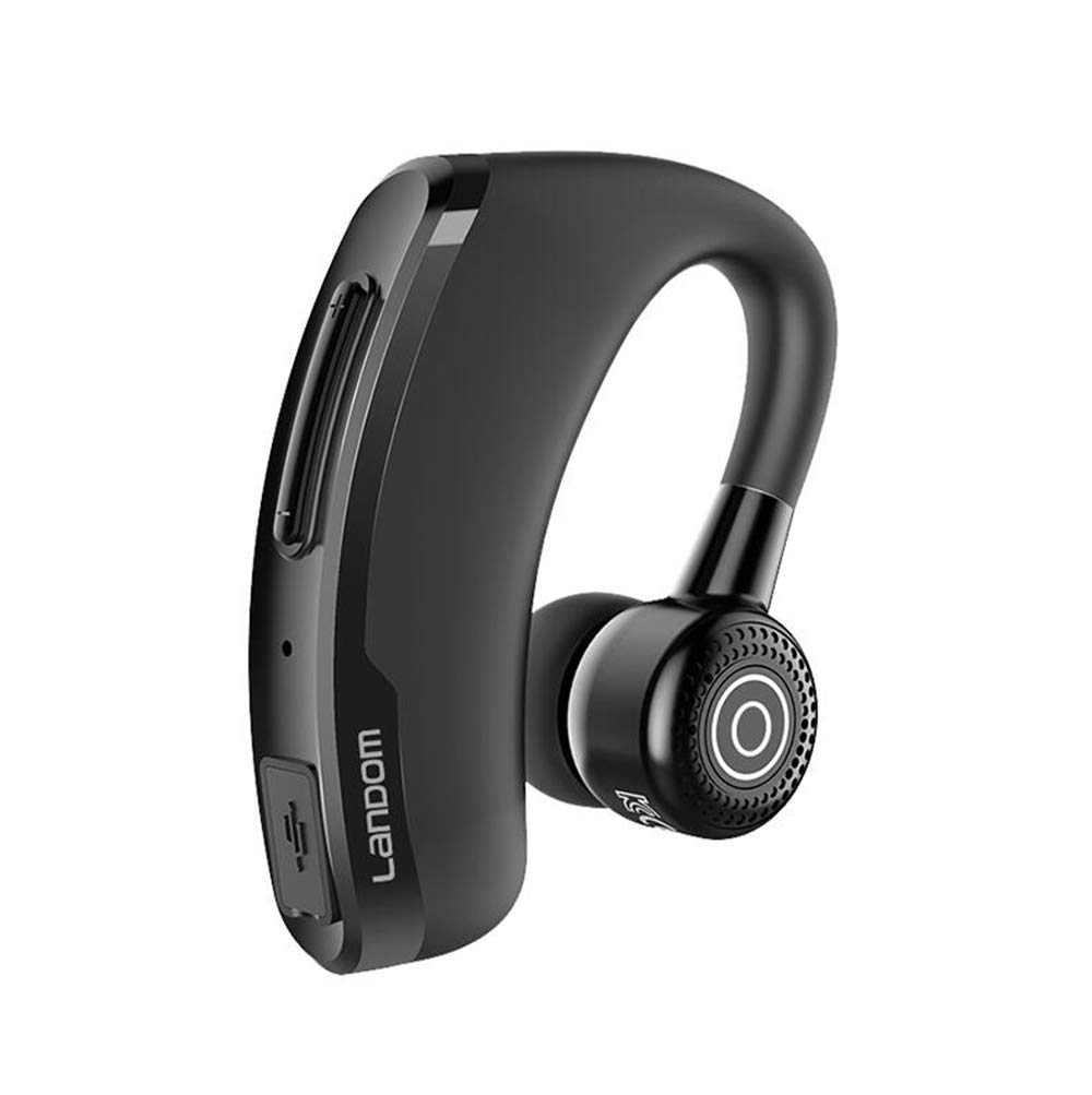 ZHM Wireless Bluetooth Over Ear Headphones with Earbuds, Long Standby V4.1 Car Headphones for Office Driving Compatible iOS Android