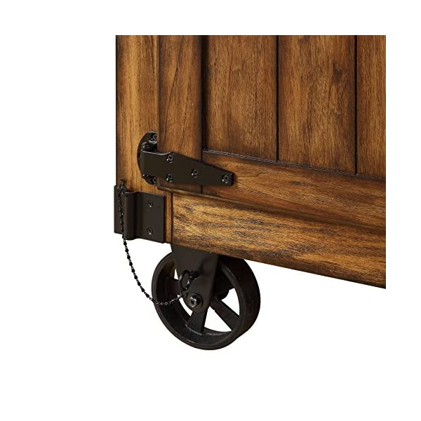 ACME Furniture 98186 Kabili Kitchen Cart, Antique Tobacco