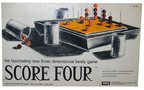 Score Four Vintage No. 8325 1971 Lakeside Game