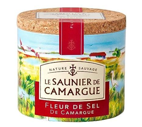 Amazon Com Le Saunier De Camargue Fleur De Sel Sea Salt 4 4