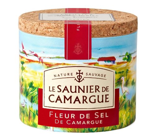Le Saunier De Camargue Fleur De Sel (Sea Salt), 4.4 oz (Roasted Salted Sauce)